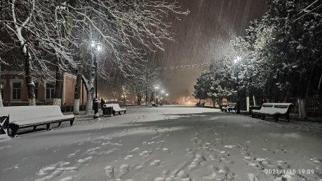 Зима в Мостовском