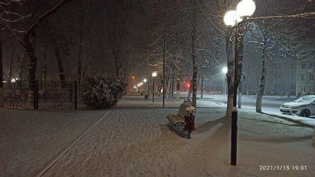 Зима в Мостовском 7